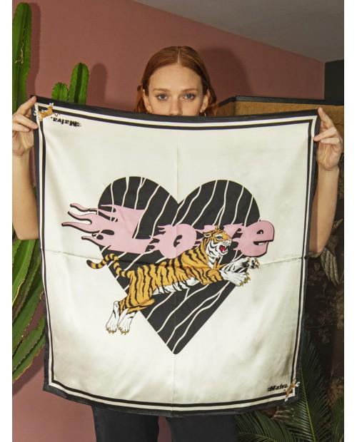 PAÑUELO LOVE TIGER